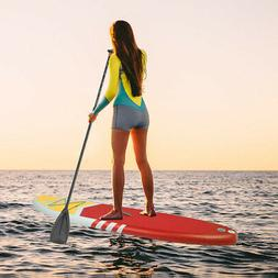 ISUP Inflatable Paddle Board With Accessories Yoga Stand Up