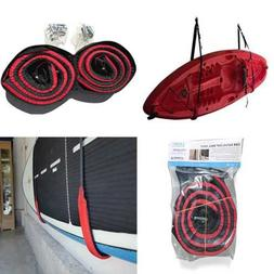 Kayak Or Paddleboard Heavy Duty Padded Wall Storage Sling Ra