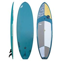 Boardworks Kraken Stand-Up Paddleboard Wood/Steel Blue 9ft 9