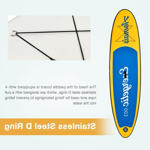 10'/11' Stand Paddle Board Surfboard Adjustable Paddle