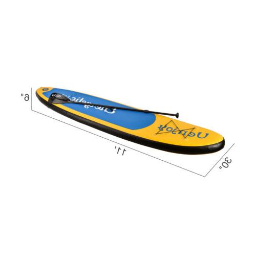 10' /11' Inflatable SUP Stand Paddle Board Surfboard