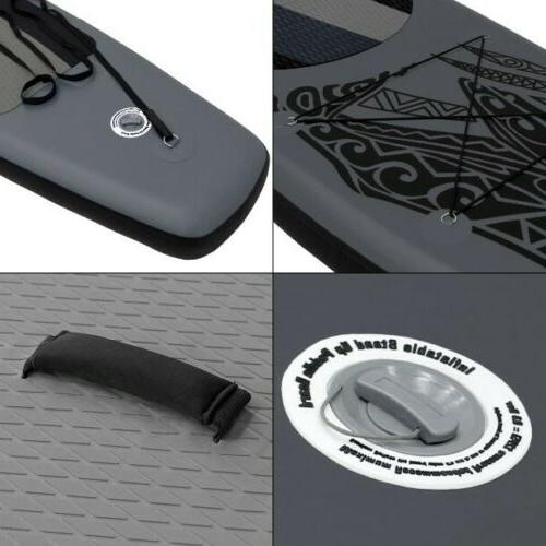 10.5' Stand Up Paddle Complete 6'' Thick Black