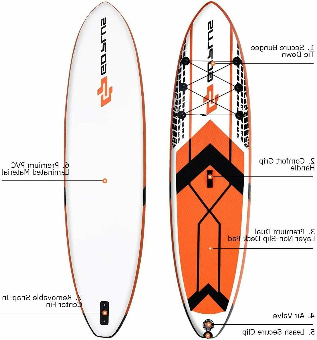 """GOPLUS 10'6"""" Stand Up Board"""