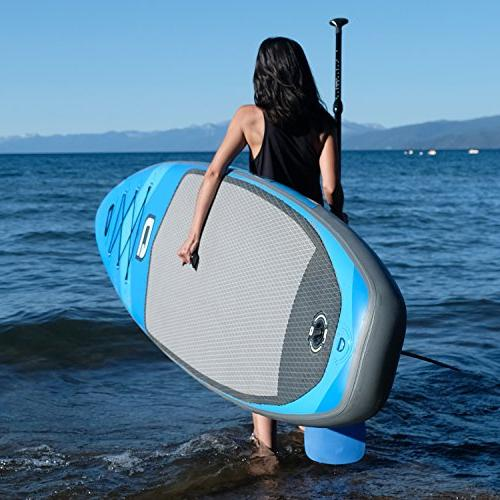 GILI 10'6 Up Paddle : Includes Paddle, Coiled Pump