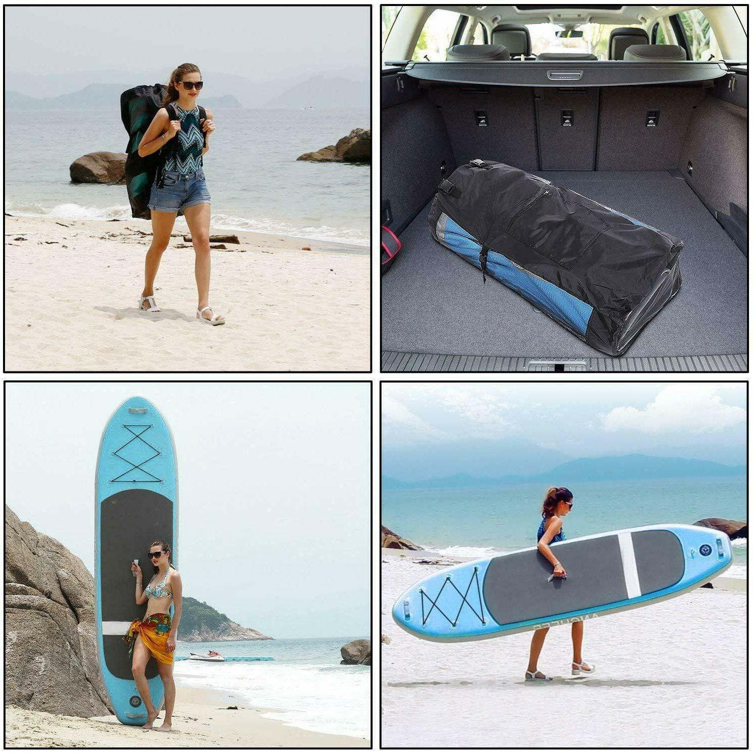 Ancheer Inflatable Stand Up Paddle Package