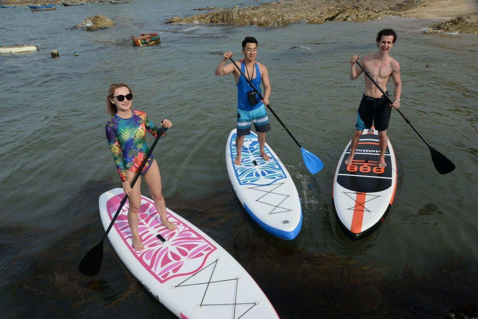 """10'6x33""""x6"""" Stand Paddle Board w/Ad Paddle,Backpack,leash,pump"""