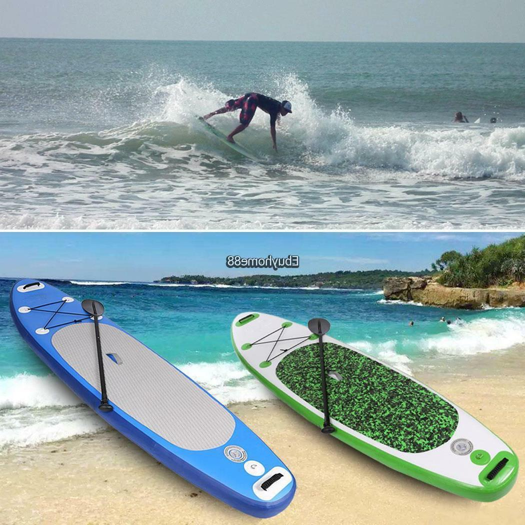 10 Stand Paddleboards Surf w/ Paddle Kit Accessories