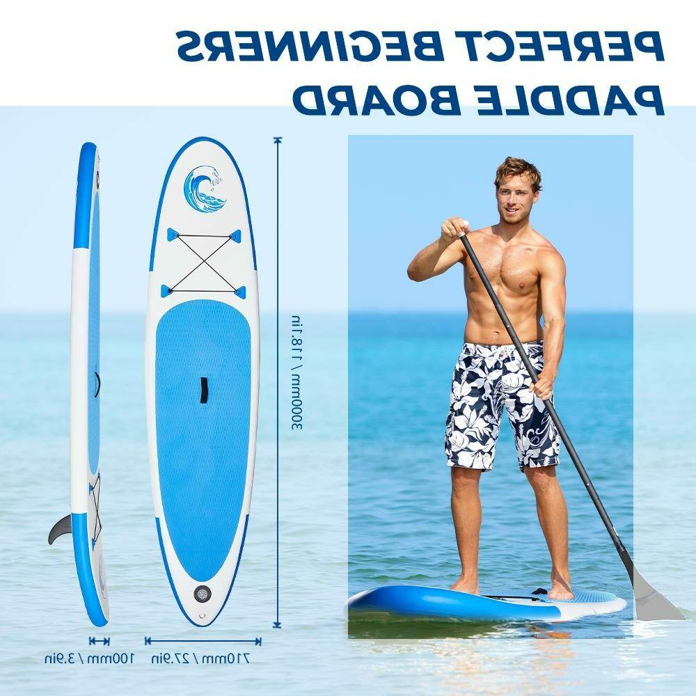 10' Stand Paddle Board SUP All kit