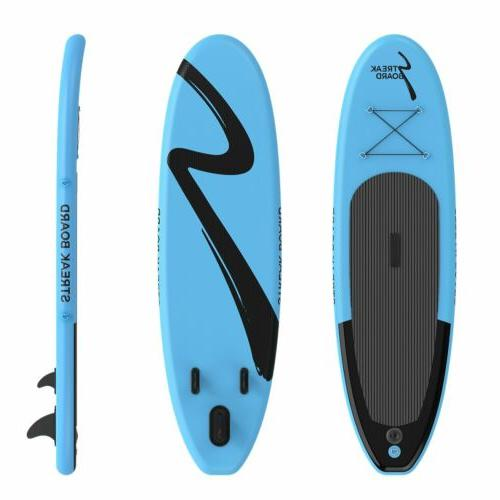 10ft Inflatable Stand Up Paddle Board Surfboard Non-Slip Dec