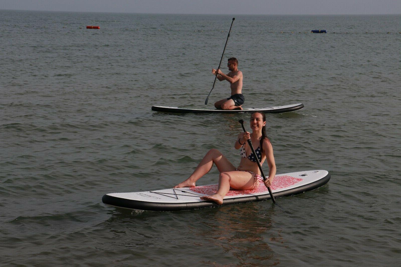 10'Inflatable Stand Paddle Board w/paddle pumb package