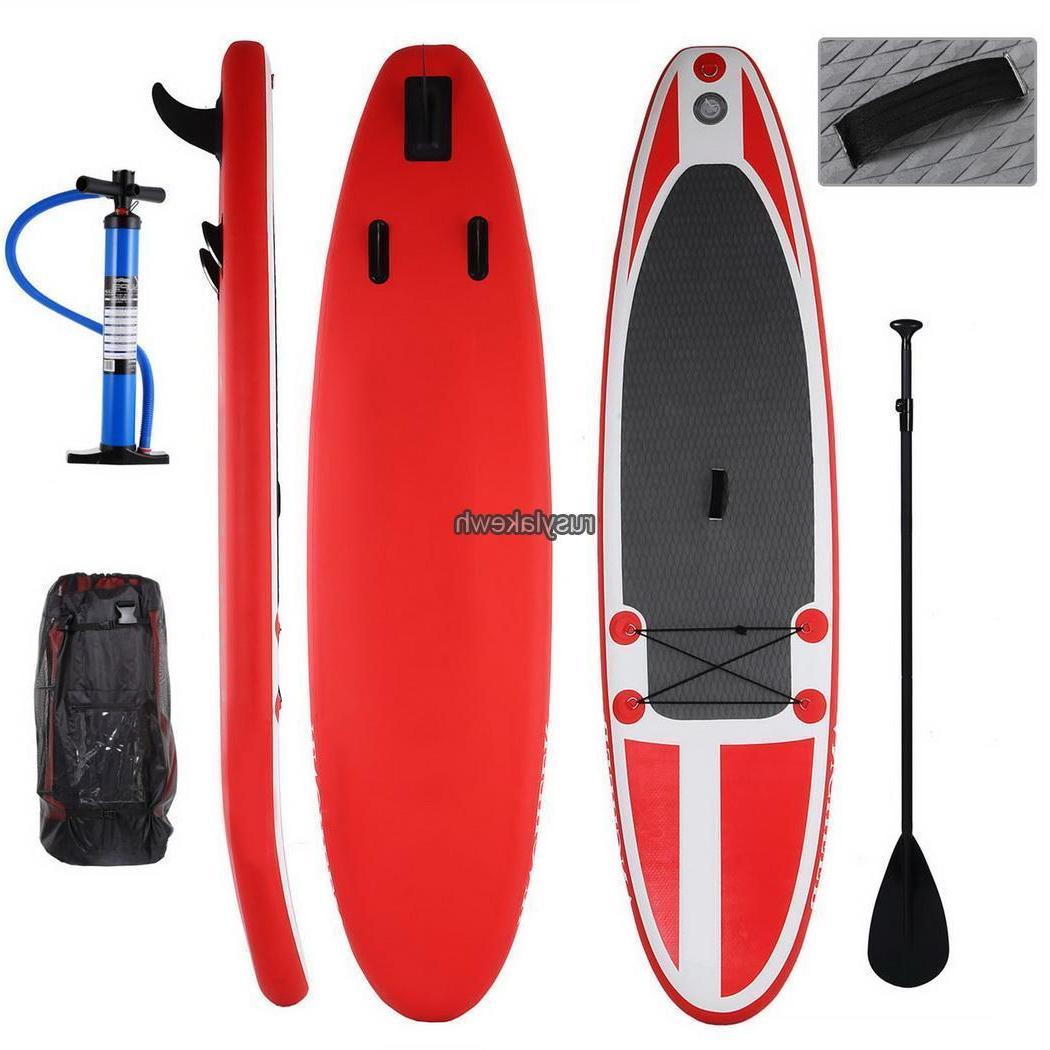 10ft Stand Up Paddle Board Adjustable Paddle