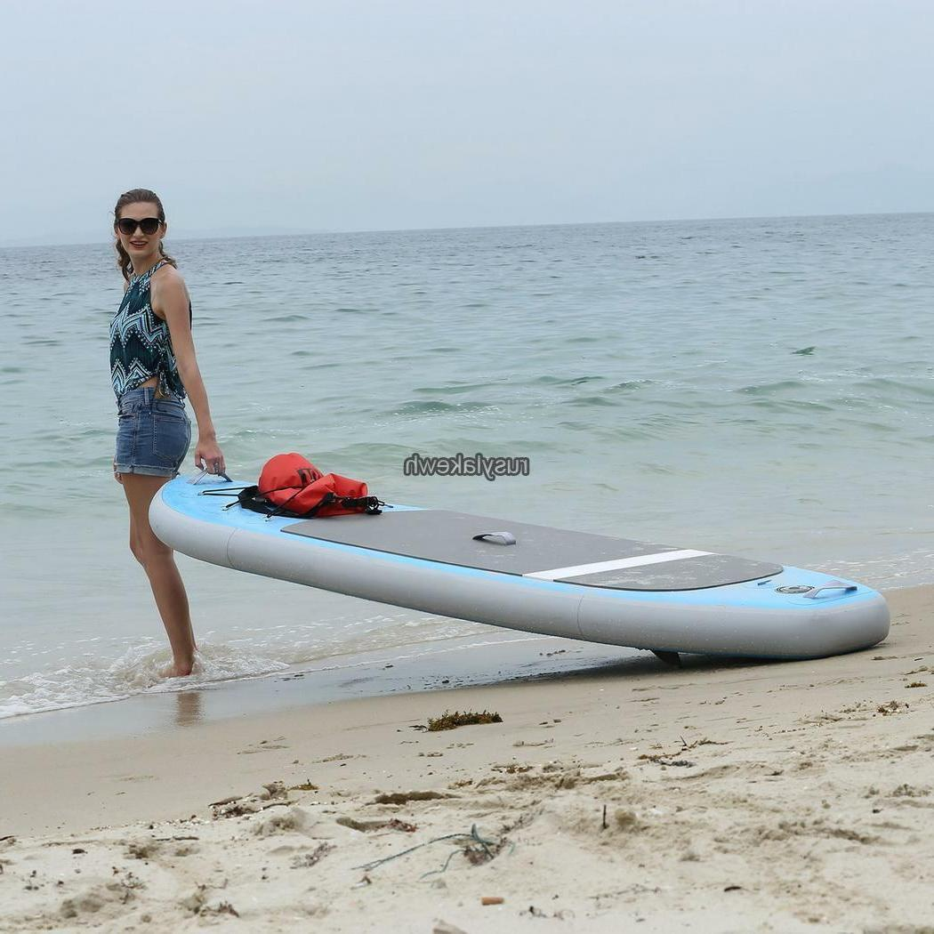 10ft Inflatable Paddle Board SUP Adjustable Paddle