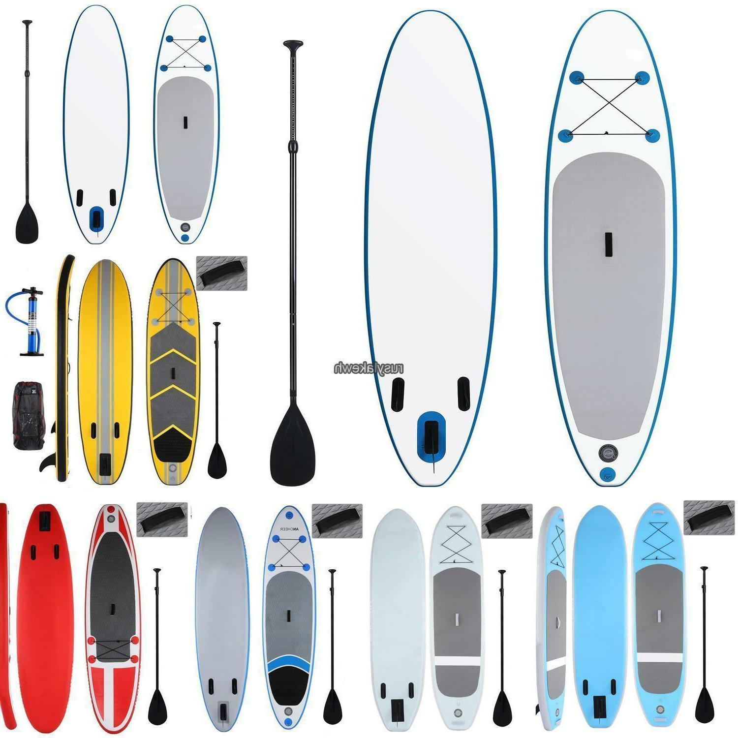 10 inflatable sup stand up paddleboards paddle
