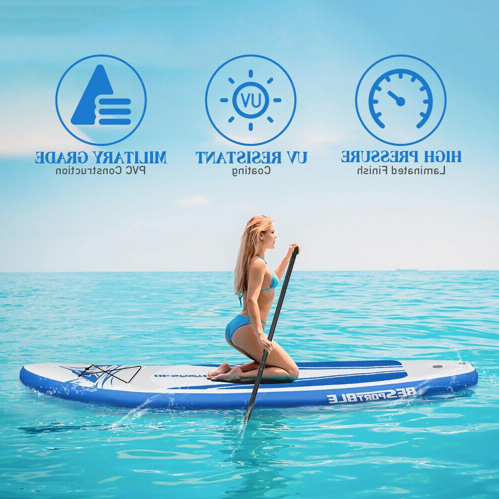 Inflatable Stand-Up Paddle Board Set Longboard For Youth
