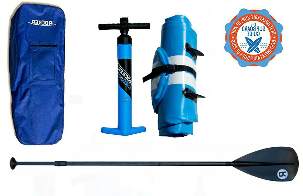 IROCKER STAND UP PADDLE ACCESSORIES & BAG NEW!!!