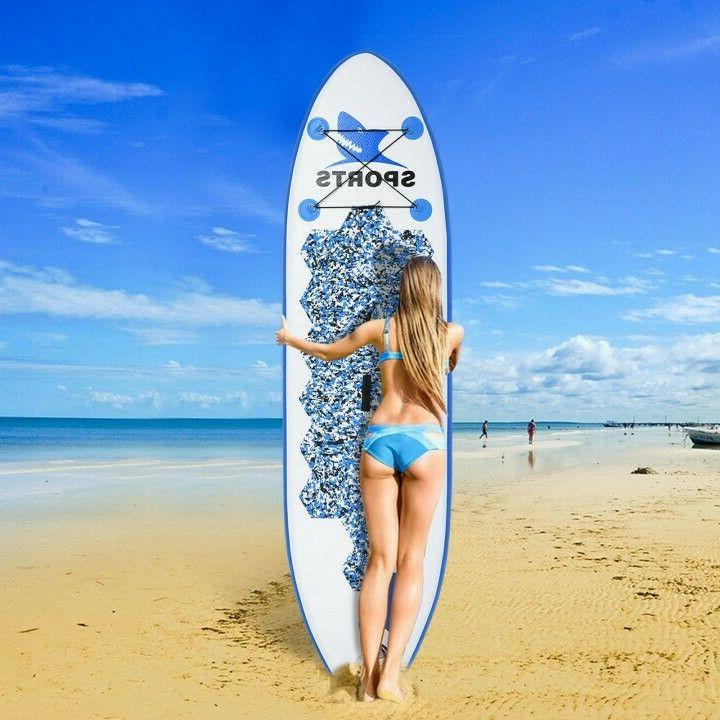 10 'Inflatable Super Stand Up Paddle Board Surfboard Adjusta