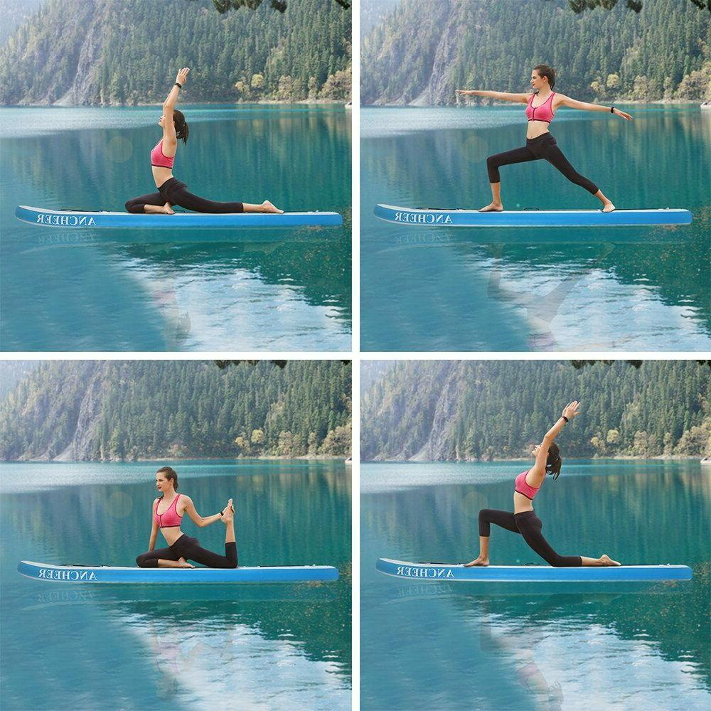 US ~Thrive 10'' Inflatable Stand Up Board Paddle