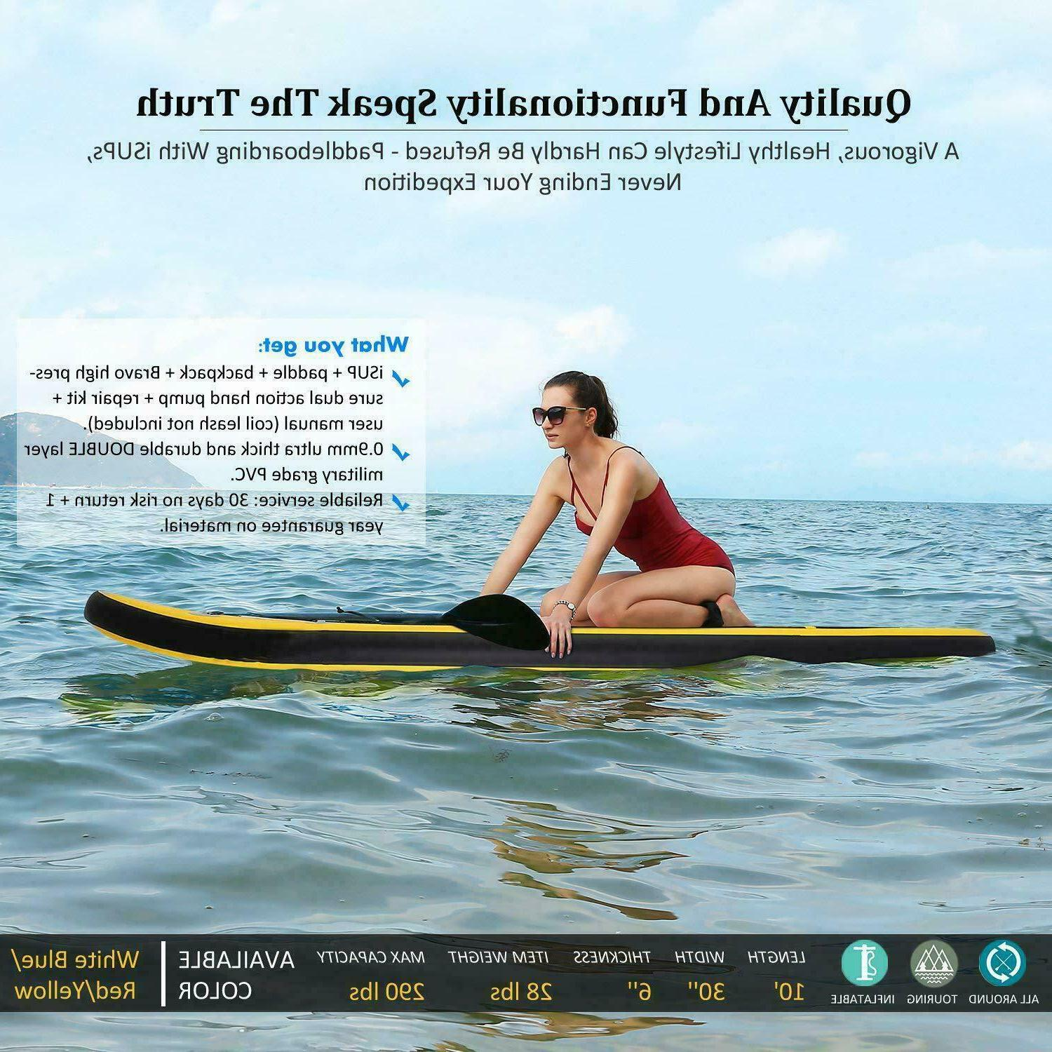ANCHEER Thrive 10ft Stand Paddle Board with