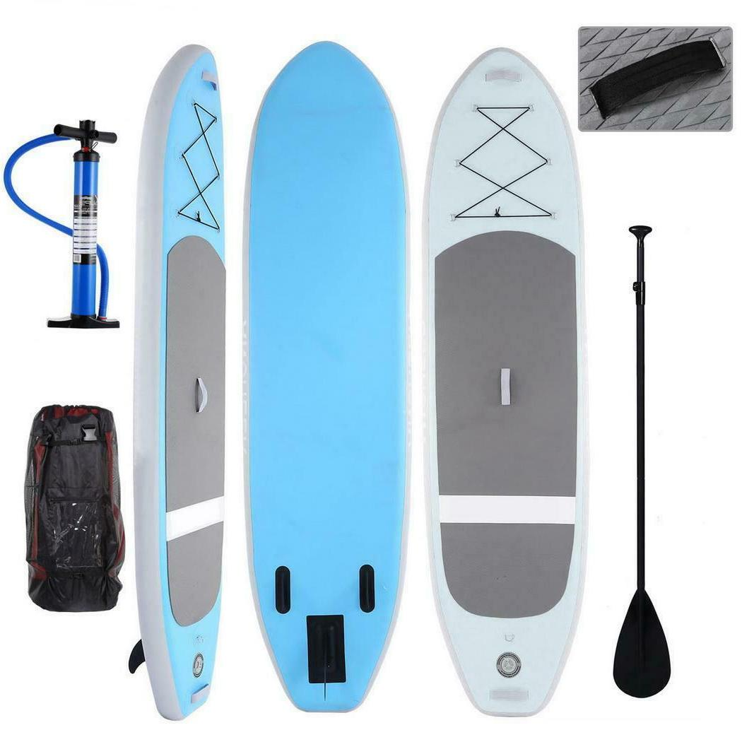ANcheer 10'  Inflatable SUP Stand Up Paddle Board Package w/
