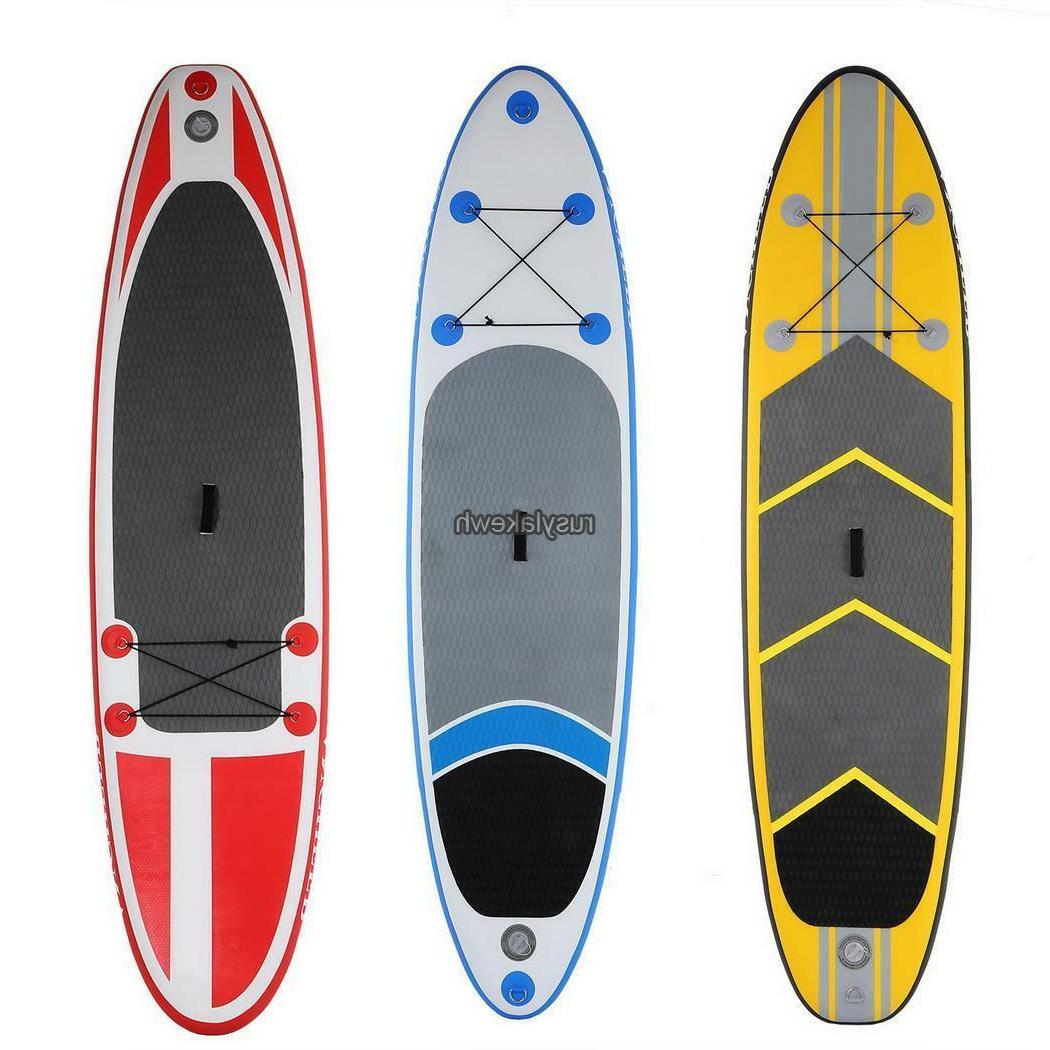 10ft inflatable stand up paddle board sup