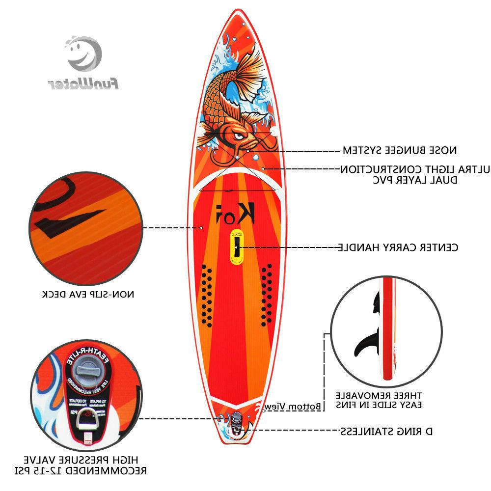 11'6'' Inflatable paddle Board Board ISUP with