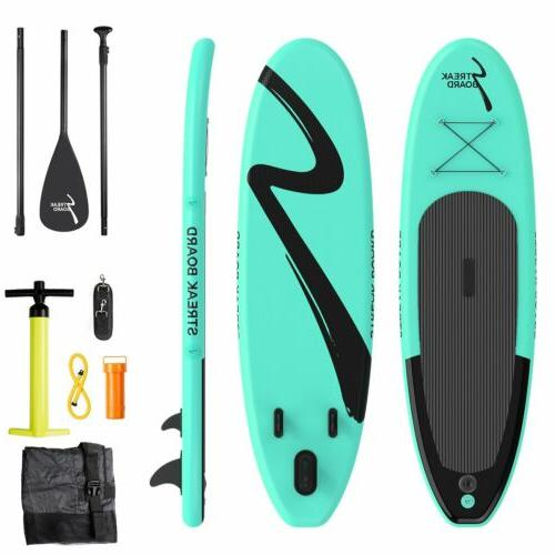 """Inflatable SUP Stand Up Paddle Board 11'x30""""x 6"""" Kayak w/com"""