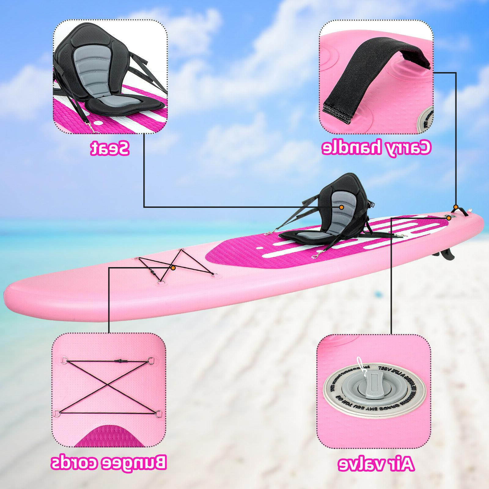 11' Inflatable Up Paddle Board with kit Pump