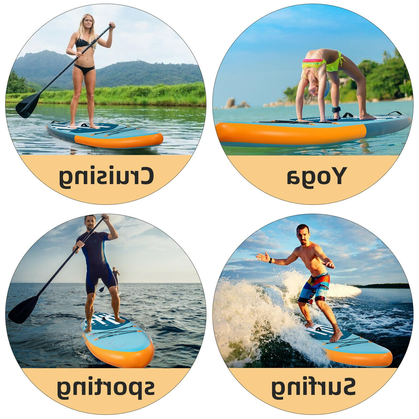 11' Inflatable Paddle Board SUP with Pump