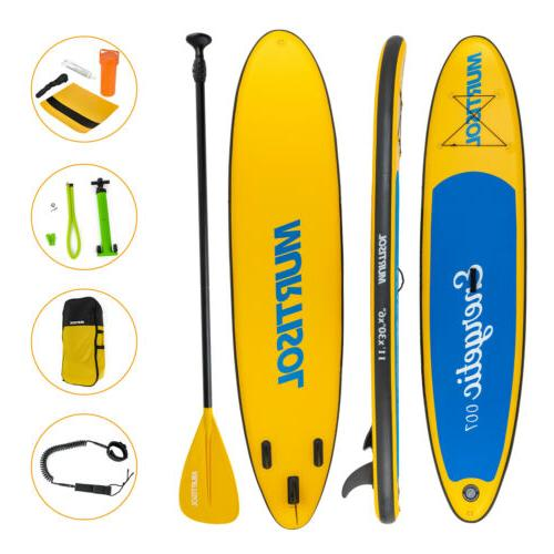 11' Up Paddle Adjustable Paddle Yellow