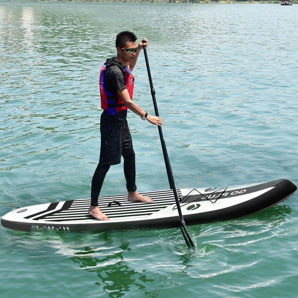 11' Inflatable Paddle Board Adjustable Paddle