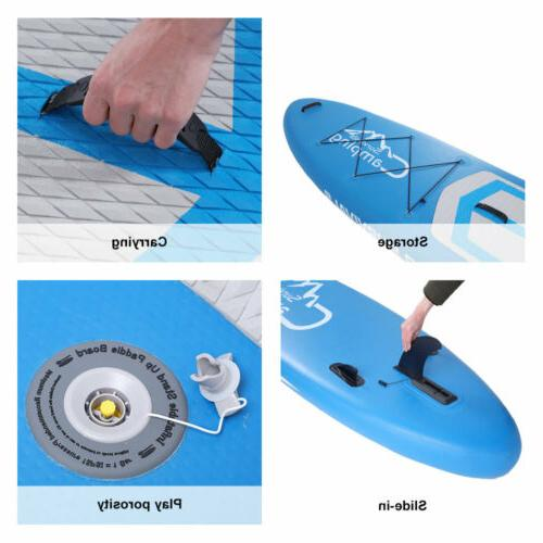 """10'10"""" Stand Up Paddle Board SUP Package Paddle"""