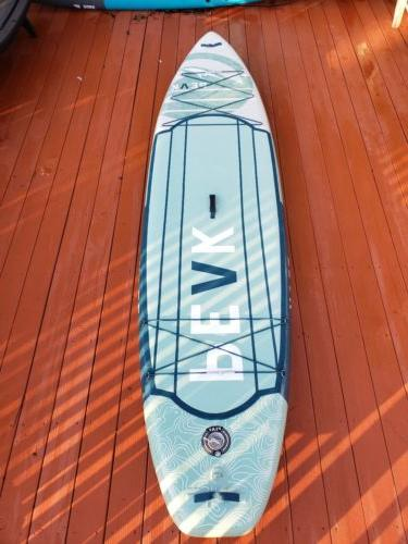 11ft expedition inflatable stand up paddle board