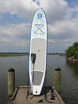 12' Inflatable Stand Paddleboard w/ Paddle 365B
