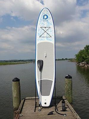 12 inflatable stand up paddleboard w paddle