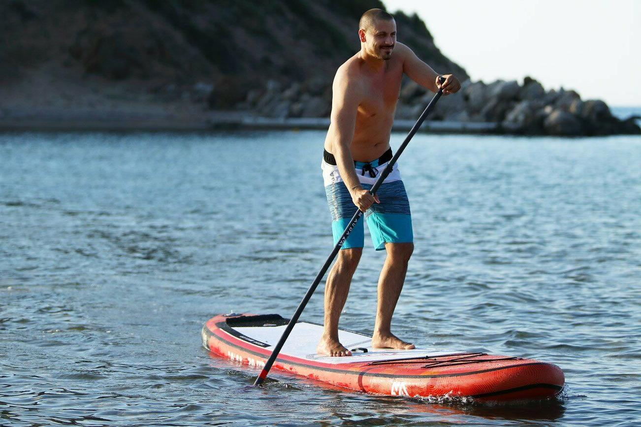 2019 Board Inflatable SUP w/ Paddle