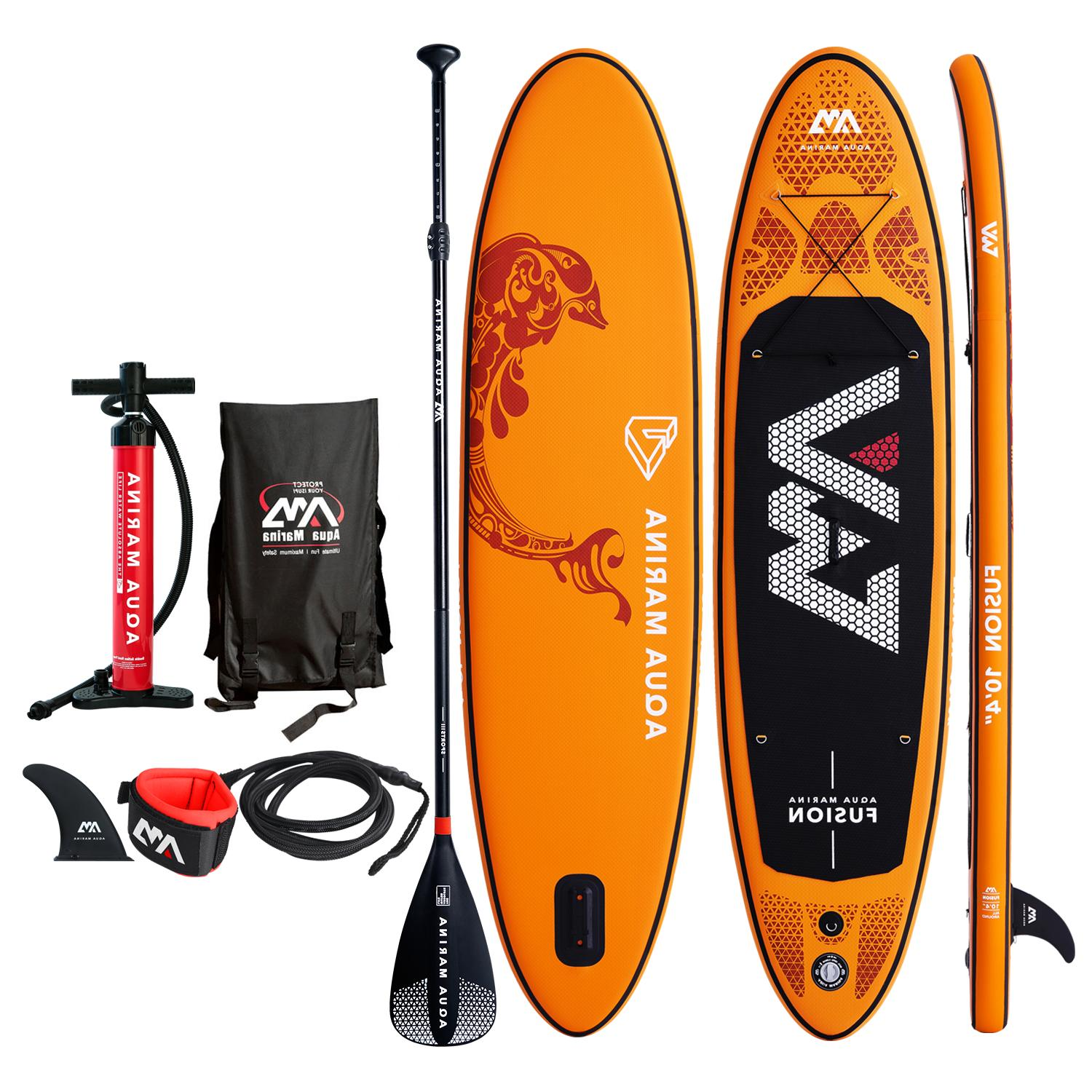 2019 fusion inflatable stand up paddle board