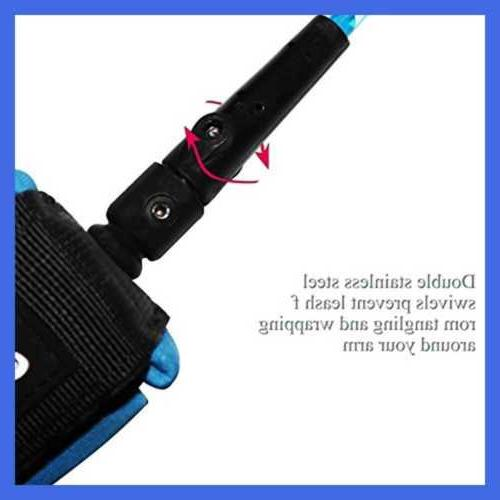 A ALPENFLOW Coiled Bodyboard Leash Surfboard Paddle
