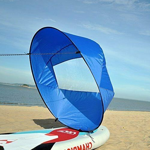42 5 foldable downwind wind paddle popup