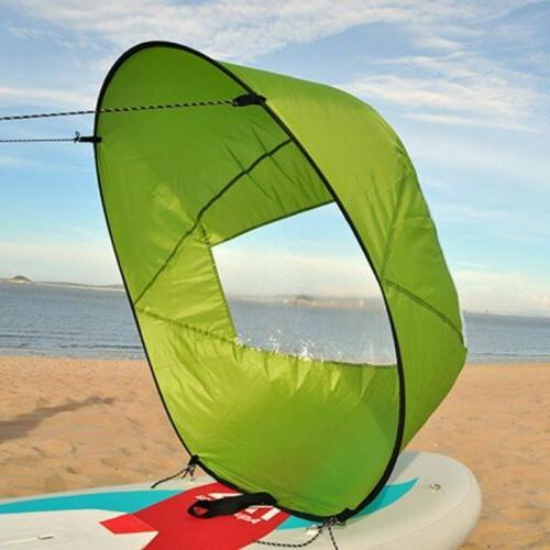 Wind Paddle Instant Board Sail Kayak Accessories