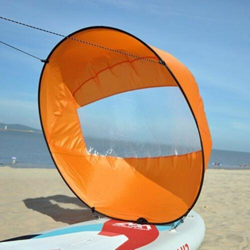 """42"""" Portable PVC Wind Paddle Popup Board Sail"""