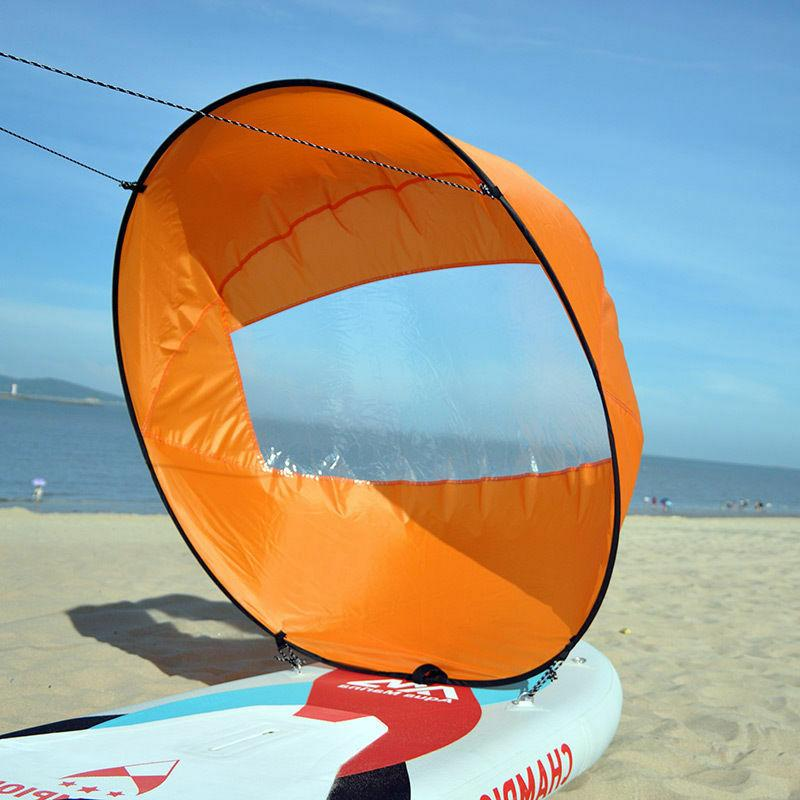 """42"""" Downwind Wind Paddle Popup Board Portable Sail"""