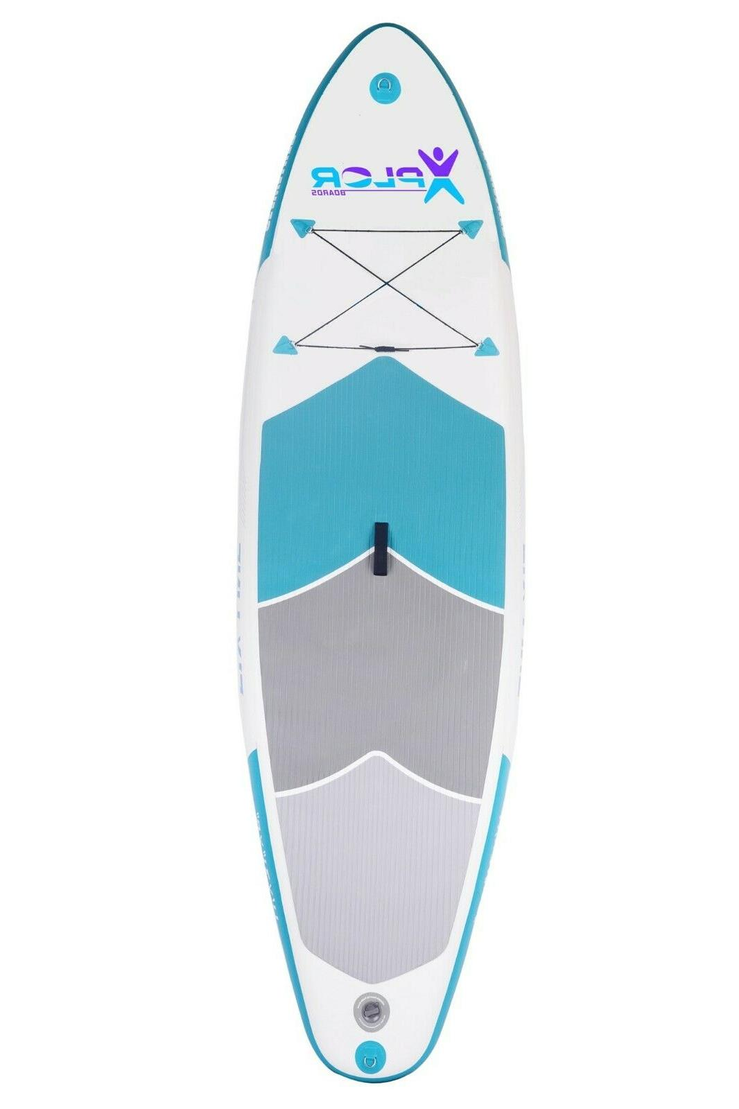 "7'6"" Up Paddle Board w/Carry Adjustable Paddle"