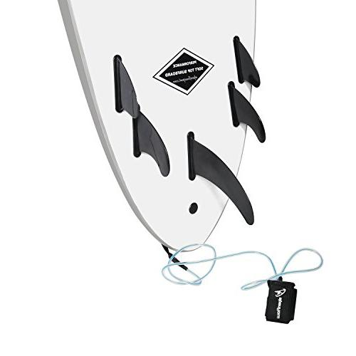 A ALPENFLOW Up Board Board with and Leash
