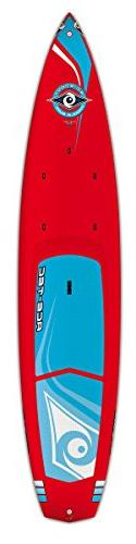 "BIC Ace-Tec Wing LTD Stand Up Paddleboard, 12' 6"" Red One Si"