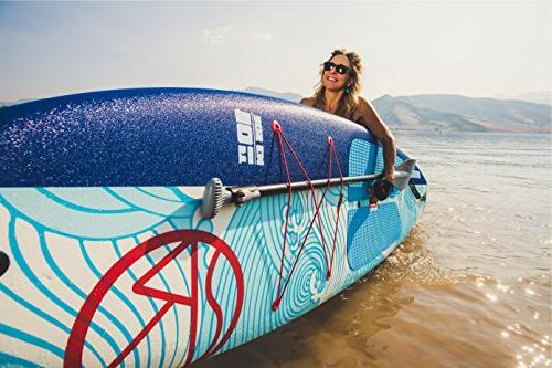 """Jimmy Styks Amberjack Top Up Paddle Board Blue & 10' 5.2"""" Around SUP 