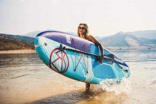 """Jimmy Styks Top Stand Board 5.2"""" Thick Around SUP 