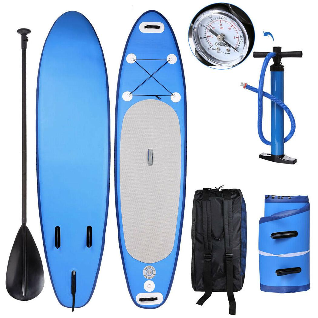 10 FT Up Paddle Board w/ Accessories for Surfing
