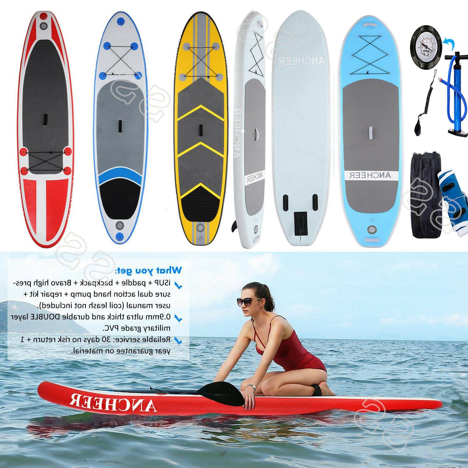ANCHEER Stand Up Paddle Board Package w/Adjustable US