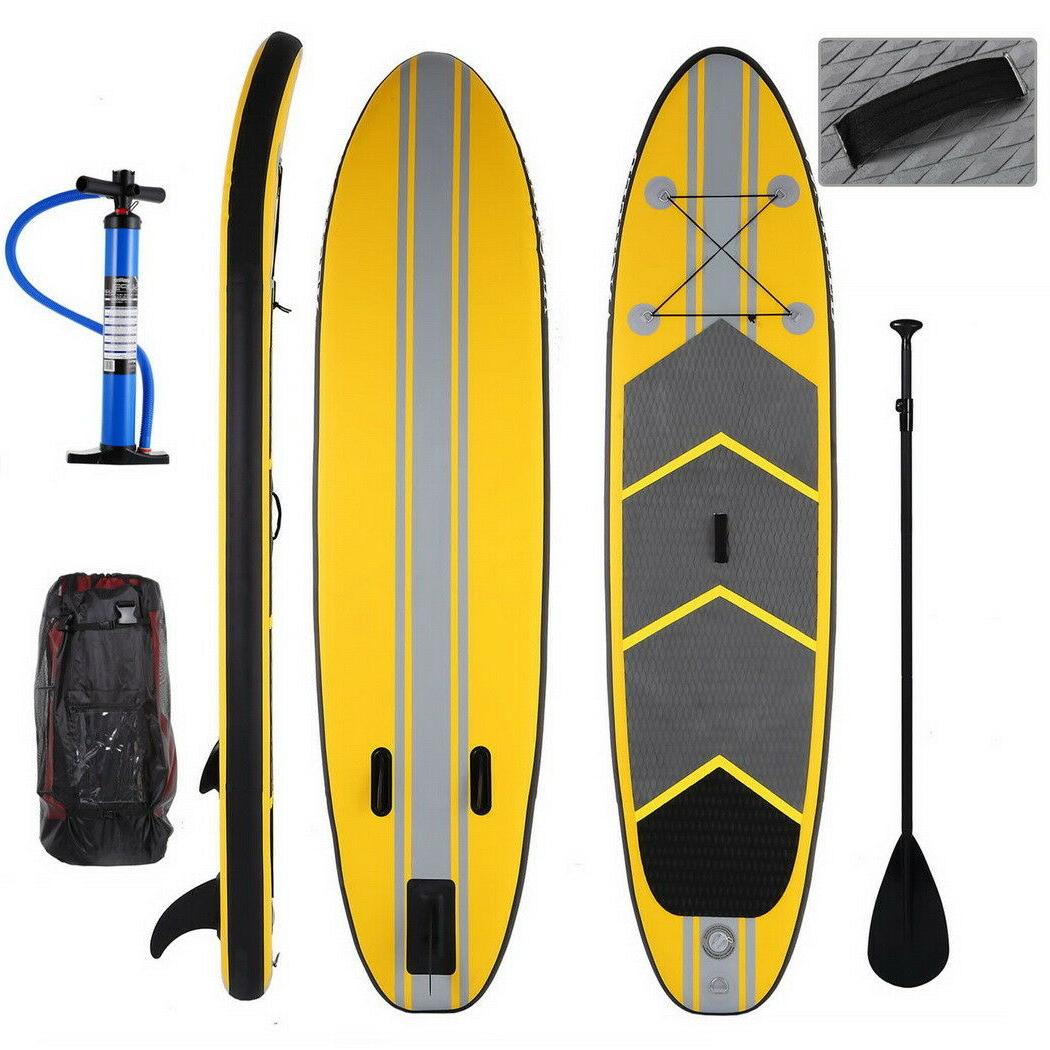 ANCHEER Inflatable Paddle Board 11' Package Paddle US