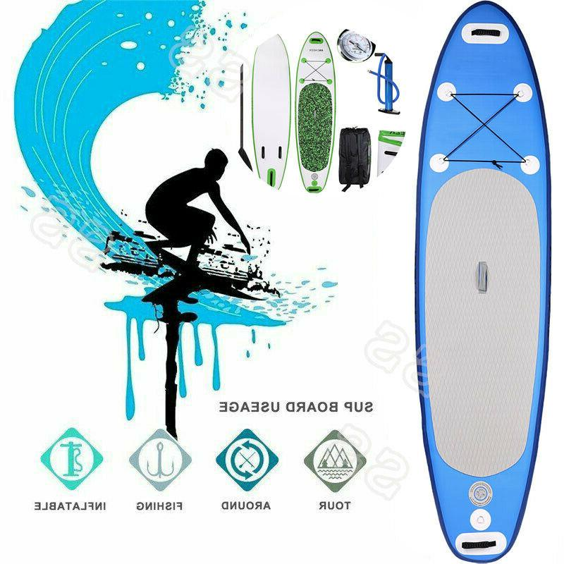 ANCHEER Paddle Stand Up 11' Boards Blue Bag